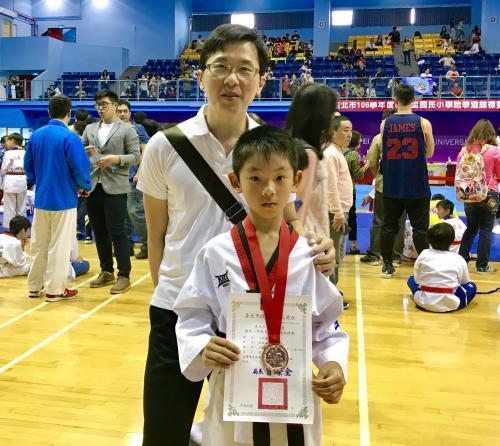 106學年臺北市教育盃跆拳道錦標賽