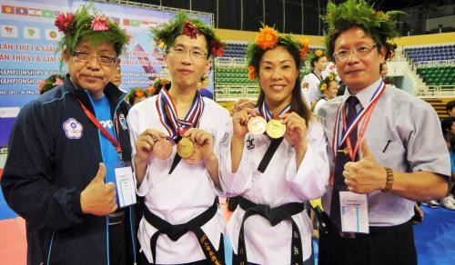 2012年亞洲跆拳道品勢錦標賽(越南)
